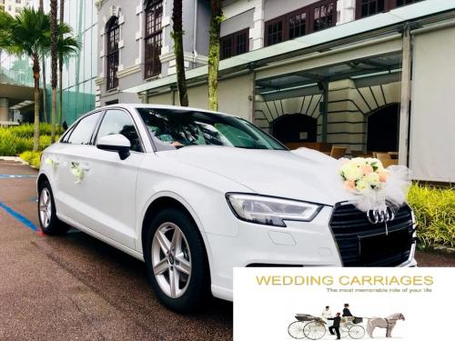 WeddingCarriages Audi A3 2018