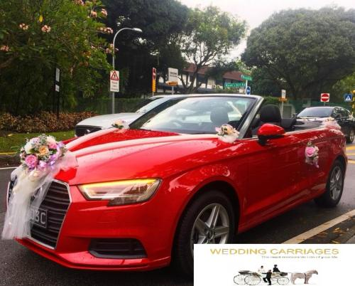 WeddingCarriages Audi A3 cabriolet 2018