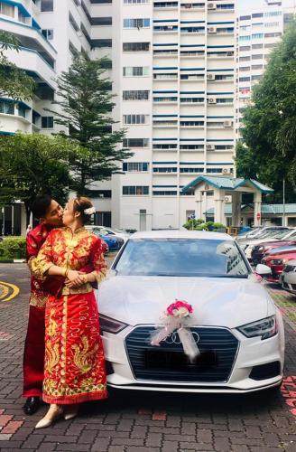 Audi A3 wedding