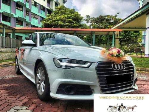 WeddingCarriages Audi A6 2018