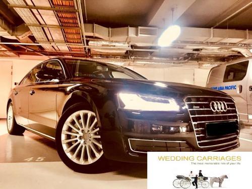 WeddingCarriages Audi A8L 2018