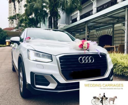 WeddingCarriages Audi Q2 sports 2018