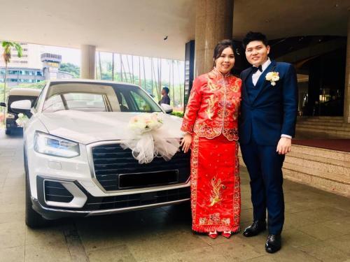 Audi Q2 wedding