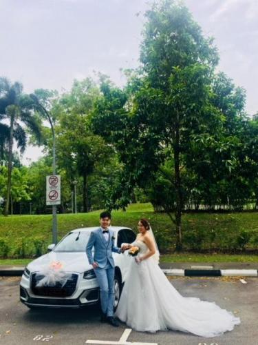 Audi Q2 wedding 1