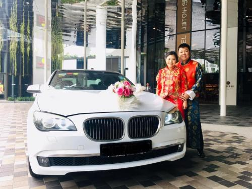 BMW7 wedding