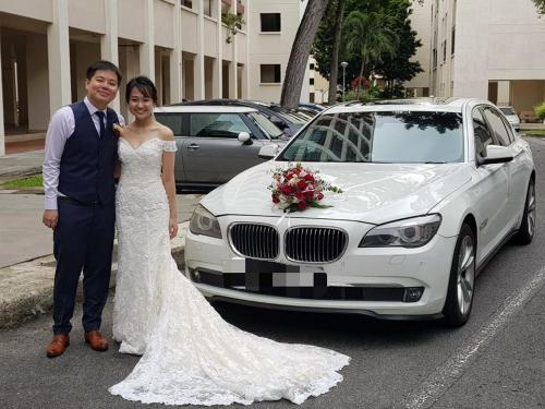 BMW7series wedding