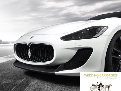 WeddingCarriages Maserati GranTurismo Coupe