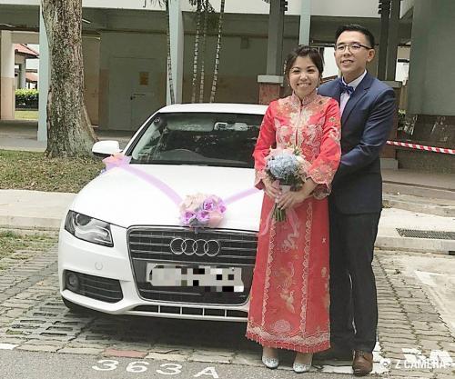 Wedding Audi A4