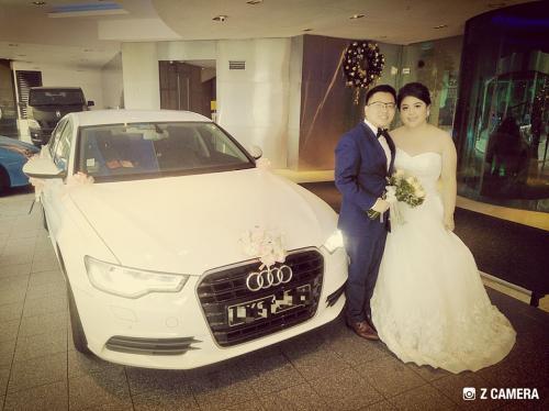 Wedding Audi A6.1