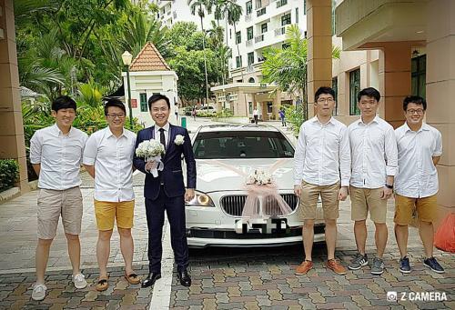 Wedding BMW7.3