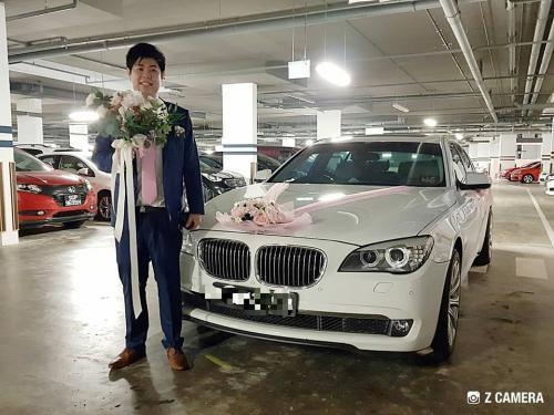 Wedding BMW7