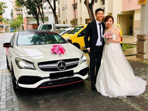 Wedding Mercedes CAMG