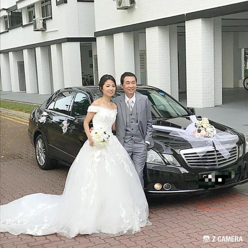 Wedding Mercedes E