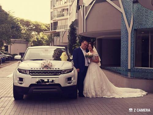 Wedding Range Rover