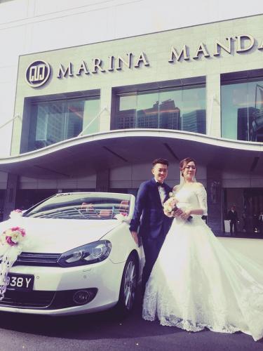 Wedding VW Cabriolet