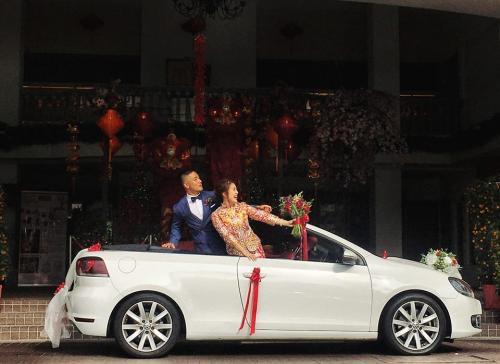 Wedding VW Cabriolet 2