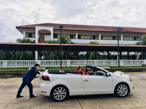 Wedding VW Cabriolet 6