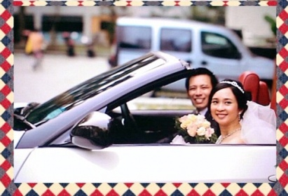 Weddingcarriages BMW3 convertible 1