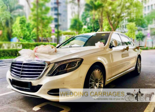 WeddingCarriages Mercedes S400 series