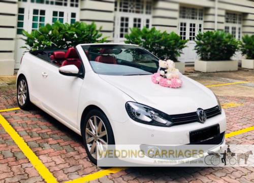 WeddingCarriages Volkswagen Golf Cabriolet