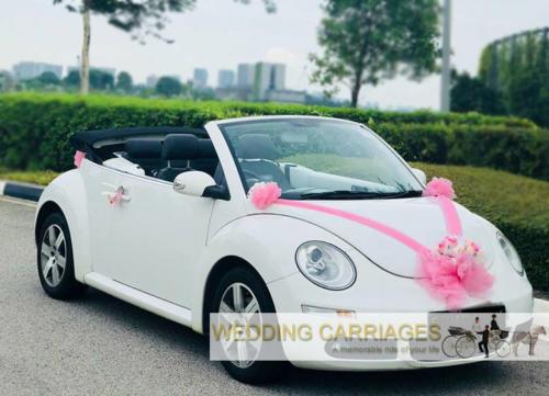 WeddingCarriages Volkswagen Beetle Cabriolet