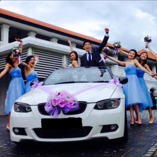 weddingcarriages BMW3 convertible